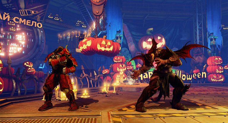 Street Fighter 5 Characters Get Halloween Costumes 2