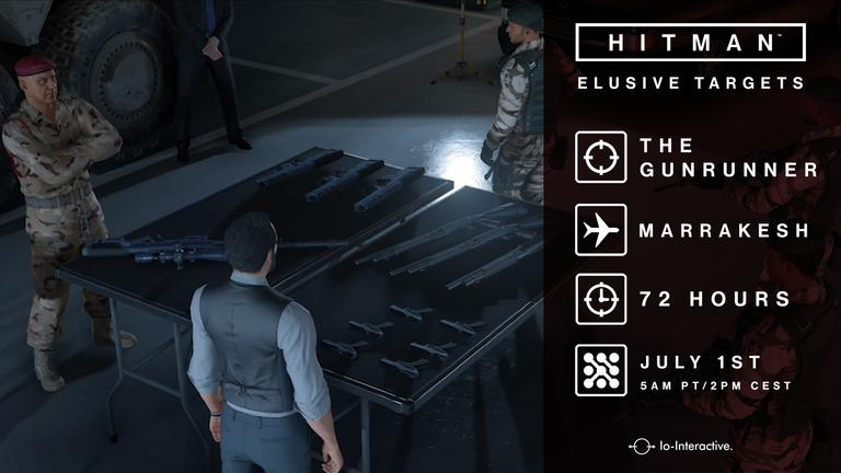 Hitman Elusive Target Episode 3 Marrakesh