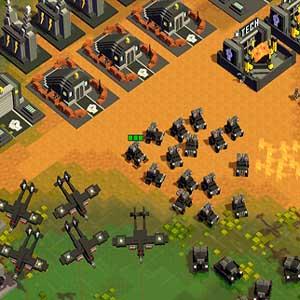 8-Bit Ejércitos Basecamp