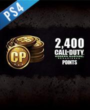 Call of Duty Modern Warfare Remastered Puntos