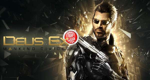 Deus Ex Mankind Divided Cover