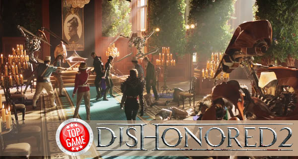 Dishonored 2 PC Version Cover