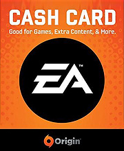 EA Origin Cash Card