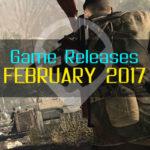 ¡Juegos Publicados en Febrero 2017 – For Honor, Sniper Elite 4, y mas!