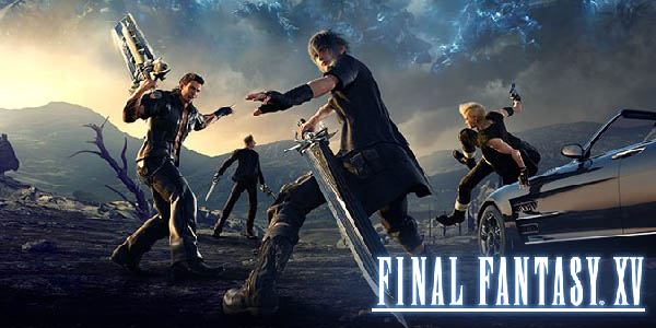 Final Fantasy 15 Update Cover