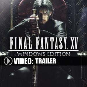 Buy Final Fantasy 15 CD Key Compare Prices