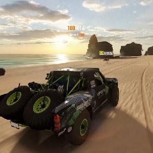 Racing alrededor de Australia
