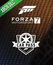 Forza Motorsport 7 Car Pass