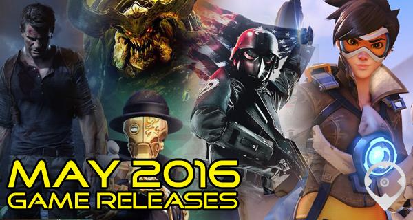 Mayo 2016 Salida de Juegos: Battleborn, Overwatch, DOOM, y Mas!