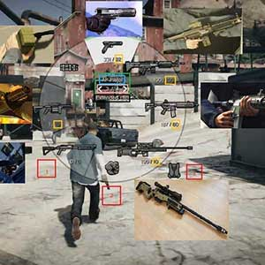 GTA 5 PS4 WEAPONS