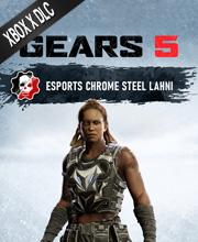 Gears 5 Esports Chrome Steel Lahni