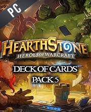 Hearthstone Deck Of Cards Pack 5