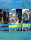 Salidas de videojuegos Marzo 2017 : ¡Nuevos juegos que debes probar absolutamente!