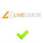Livecards.eu cupón código promocional