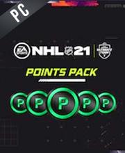 NHL 21 Puntos