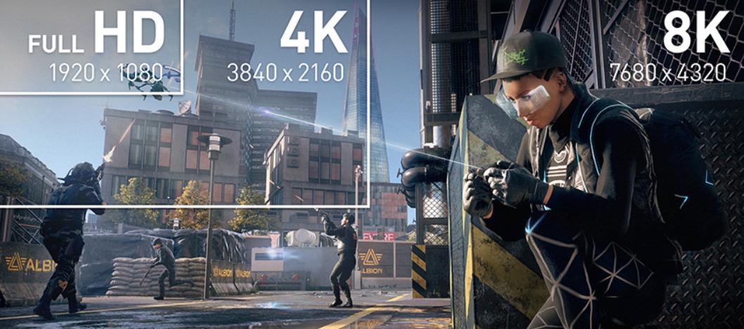 NVIDIA FULL HD 4K 8K