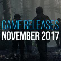 Salida Juegos Noviembre 2017