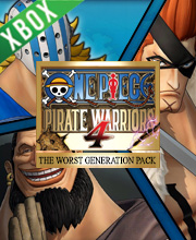 ONE PIECE PIRATE WARRIORS 4 The Worst Generation Pack