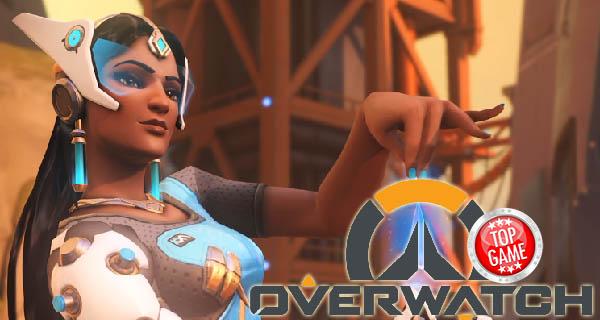 Overwatch Hero Symmetra Cover