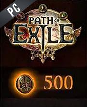 Path of Exile 500 Puntos