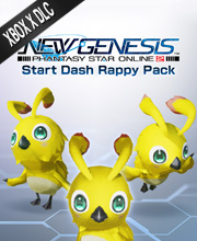 Phantasy Star Online 2 New Genesis Start Dash Rappy Pack