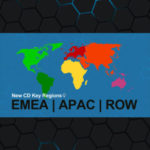 Nuevas regiones de Clave CD: EMEA, APAC, y RoW