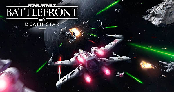 Star Wars Battlefront Death Star Cover