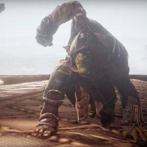 Goblin combates con el enemigo