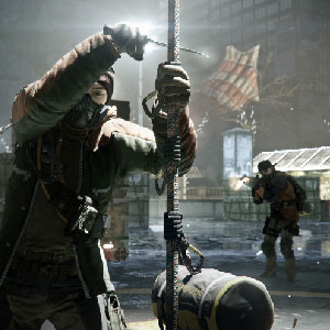 The Division PS4 Battle