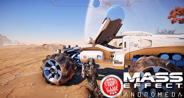 Le Nomade nouveau véhicule Mass Effect