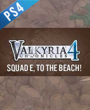 Valkyria Chronicles 4 Squad E to the Beach