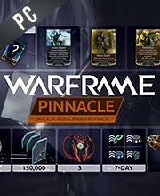 Warframe Shock Absorbers Pinnacle Pack
