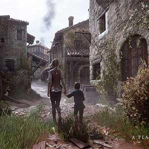 plague-ridden village