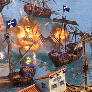 Age of Empires 3 Definitive Edition Batalla naval