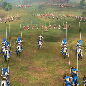Age of Empires 4 Caballeros Reales