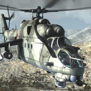 Air Missions HIND Helicóptero