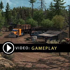 American Truck Simulator Oregon Gameplay Video