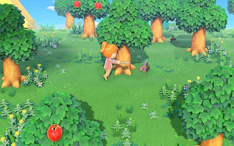 Animal Crossing New Horizons Nintendo Switch Bosque