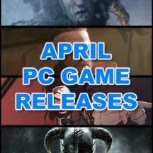 Salida Juegos PC Abril 2018