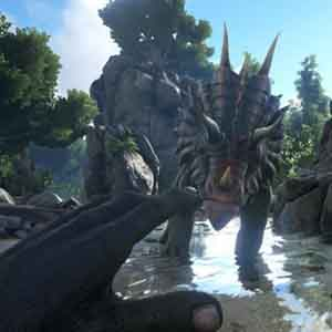 ARK Survival Evolved - Face-to-Face with the Dinosaur