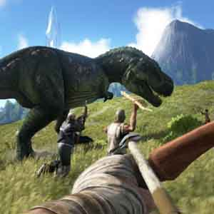 ARK Survival Evolved - A la caza del T-Rex
