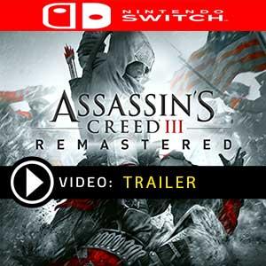 Comprar Assassin's Creed 3 Remastered Nintendo Switch Barato comparar precios