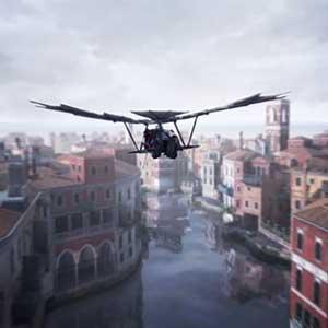 Assassin's Creed The Ezio Collection Máquina voladora