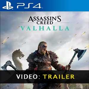 Assassins Creed Valhalla video del trailer