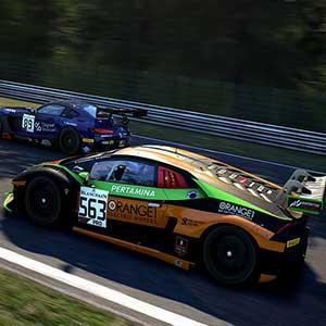 prestigiosos coches de carreras GT