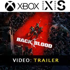 Back 4 Blood Xbox Series X Trailer de vídeo
