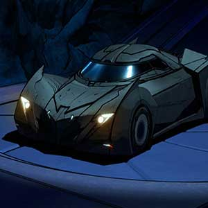 Batcave y Batmobile