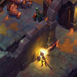 Battle Chasers Nightwar La batalla