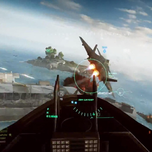 Battlefield 4 Aerial Gameplay