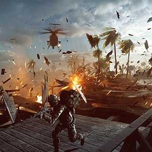 Battlefield 4 Helicóptero De Ataque